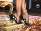 SIL Sheer Heel and Toe Stockings