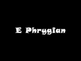 E Phrygian - Groovy Backing Track (Free mp3!)