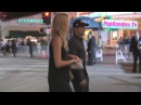 Jeremy Renner & Leslie Bibb enter Seven Psychopaths Premiere in Westwood