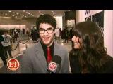 Darren Criss and Lea Michele for ET