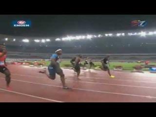 100m Asafa Powell 10.02 (-0.4m/s) Shanghai Diamond League 2012