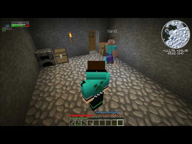 Прохождение Minecraft с интересними модами [DeGFeTKiriLL]