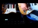 Strat-custom (Fender Dragster Dimarzio red velvet Seymour Duncan SHPR-1 P-Rails)