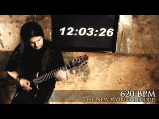 750 BPM - UNBELIEVABLE- The Absolut World Record - Tiago Della Vega