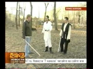 Красноярские саберфайтеры. Новости 24. Седьмой канал