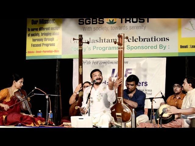 T.M.Krishna - Paarukulle Nalla Naadu (Jonpuri/Adi, Subramanya Bharathi) - at Unnati Bangalore, 2011