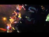 Darren Criss dancing along to