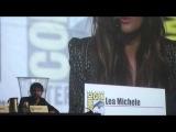 Lea Michele and Darren Criss discuss potential cabaret