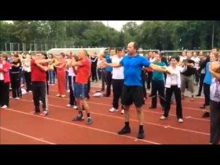 Ранкова гімнастика з вінничанами