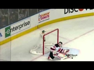 Martin Brodeur makes a series of saves in the first period. 5/23/12