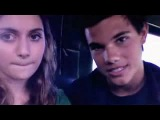 Taylor Lautner and Alyson Stoner
