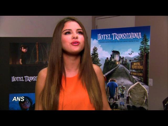 SELENA GOMEZ SHACKS UP WITH ADAM SANDLER AT THE 'HOTEL TRANSYLVANIA'