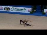 Viktoria Shynkarenko 2012 WC Pesaro AA hoop