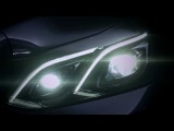 2013 Mercedes E-Class Teaser : The new light design