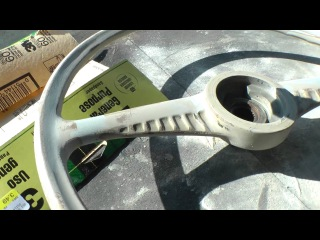 Classic VW Bugs How to Restore Vintage Beetle Ghia Bus Steering Wheels