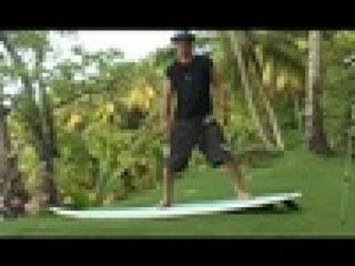 Уроки серфинга. Урок четвертый. Заскок на доску