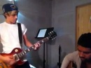 Niall and Carl Falk playing One Thing on their guitars!.mp4