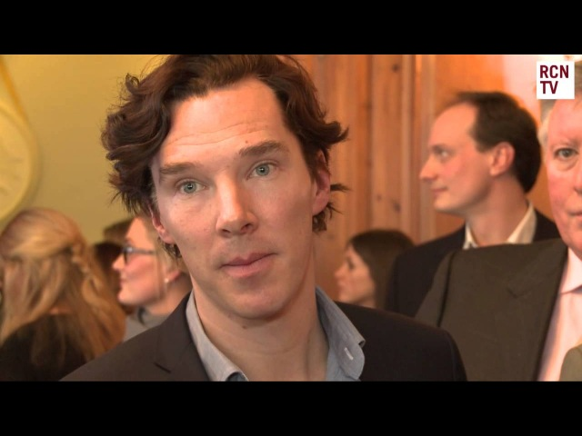 Benedict Cumberbatch Interview - Sherlock Series 3 & Star Trek Into Darkness
