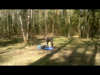 Палатка автоматическая кемпинговая Тропик-автомат 3,4