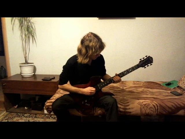 Joe Satriani - Flying In A Blue Dream cover by Martinezzz