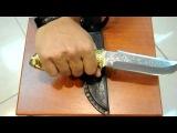 Нож охотничий Морж.AVI