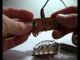 Светодиодная мигалка с ручным управлением