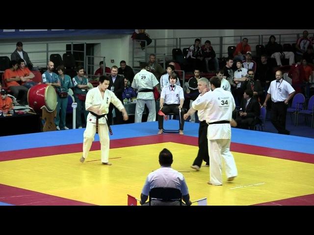 Wakabayashi Ryo -- Kypirtidis Dimitrios 09.06.12 Чемпионат Европы KWU