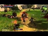 DK Online (Dragon Knights online) Open Beta Gameplay - grey elf Warrock