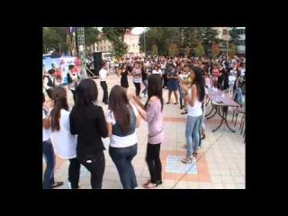 AMSHEN LIVE in Tuapse 11.09.2011. Спартак дает уроки амшенских танцев..