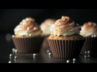Видео-рецепт свадебных тортиков-кексов