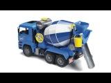 Bruder Toys MAN TGA Cement Mixer #02744