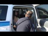 Woman in Bikini Arrested on Beach 3