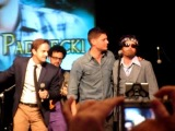 Jared and Jensen at Vegas Con - The boys leaving and Jensen singing