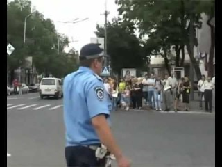 Euro 2012 Ukrainian road police welcomes you