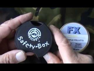 AIR GUN PISTOL RIFLE PELLET SAFETY BOX DON'T SPILL YOUR PELLETS