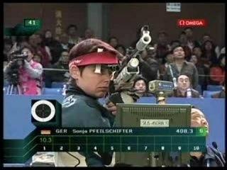 Beijing 2008 ISSF World Cup 10M Air Rifle Women Final (2/4)