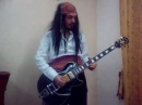 Jack Sparrow/Johny Depp rocks Pirates of the Caribbean theme on guitar
