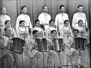 Г.Р.Н.Х. Хор им. Пятницкого концерт 1964 Pyatnitskiy 4/6