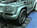 Чип-тюнинг G55 AMG от CHIPTUNER.KZ