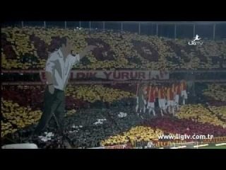 ultrAslan Galatasaray-Beşiktaş 3D Koreografi / Cimbom Başı Dik Yürür   medya.GS