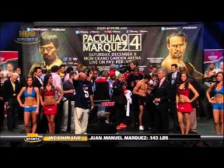 Pacquiao vs Marquez IV 4 weigh in @ZProphet_MMA