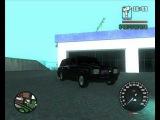мигалки на ваз 2104 в GTA San Andreas