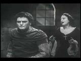Jon Vickers &amp  Edith Della Pergola - Дуэт Манрыка  Леаноры 'Parlar non vuoi' (Verdi, Il trovatore)