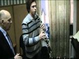 Урок в консерватории ( кларнет )
