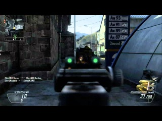 Black Ops 2 Mp7 on Standoff Warhog Escort Drone Stealth Chopper Score Streaks HD