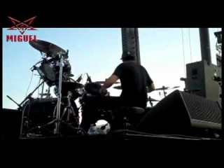 SLAYER WORLD PAINTED BLOOD LIVE DAVE LOMBARDO