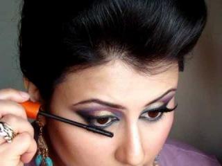Gold, Pink & Blue : Pakistani/ Indian Asian Bridal Makeup Look Tutorial