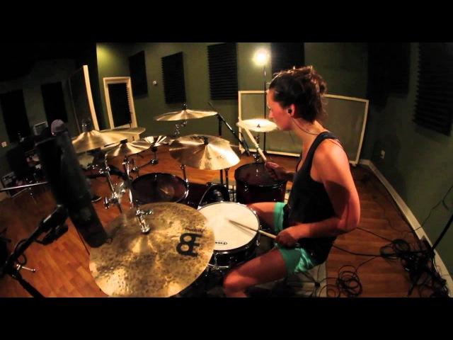 Kortney Grinwis August Burns Red Rationalist Drum Cover Всем девушкам барабанщицам или девушкам желающим играть посвящается Всё возможно