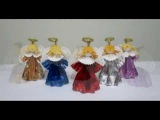 How to make 3D Paper Doll - Angels