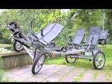 Velomobile, human powered vehicle, recumbent bike